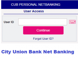 city union bank net banking