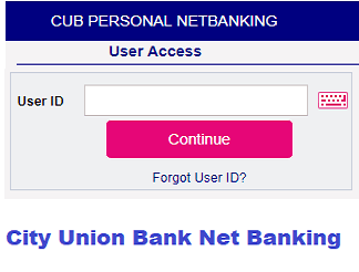 city union bank net banking