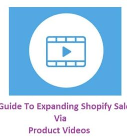 Guide To Expanding Shopify Sales Via Product Videos