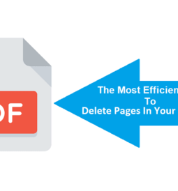 Way To Delete Pages In Your PDF Files