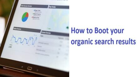 Boot your organic search results