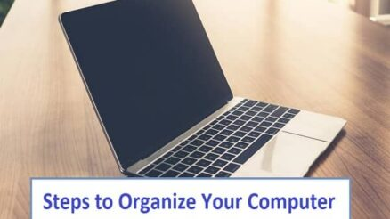 Steps to Organize Your Computer