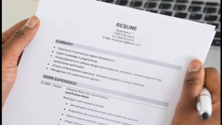 The quality resume with the perfect touch to the template