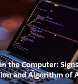 Virus in the Computer Signs of Infection and Algorithm of Actions